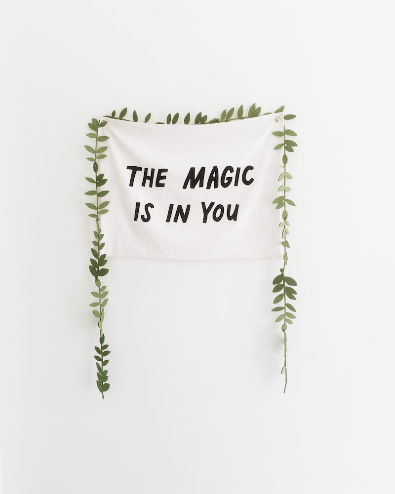 The magic is in you!