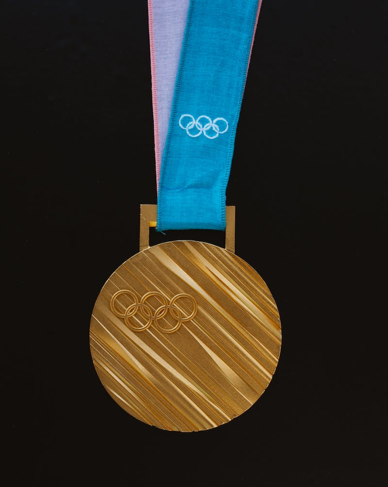 An Olympic gold medal.